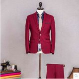 Homens magros feito-à-medida do ajuste da chegada nova terno para o negócio
