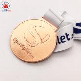 Médaille de sablage au jet de sports métalliques personnalisées pour des événements