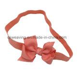 A testa une Headbands grossos de Hairbow das curvas da fita para o bebê