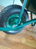 Carrinho de mão de roda da qualidade da fábrica de Qingdao