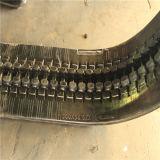 As esteiras de borracha da escavadeira 350*54,5 k*86 para motores Kubota Kx121-3