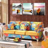 Modernes echtes modernes ledernes Sofa