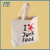 Sac shopping personnalisé de l'emballage imprimé Toile de coton sac sac fourre-tout