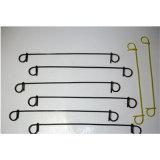 Faible noir de carbone attache double boucle de fil recuit de fil de fer
