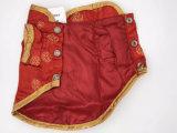 Одежды любимчика для шелка Costume малого кота собаки мальчика стародедовского китайского имперского