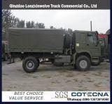 高品質の貨物ボディが付いているHOWO 6X4のダンプかダンプカートラック