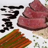 A deliciosa comida de Saúde de alho Negro Colar