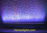 Lumière extérieure de rondelle de mur du prix usine RVB AC110-240V DEL