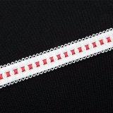 11mm de doble Color dos lados bucle de cinta elástica decorativos Picot de Lencería y Ropa Interior