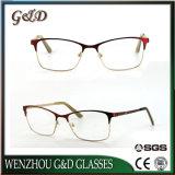 Nuevo producto de moda popular marco óptica anteojos anteojos de metal