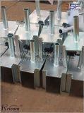 Forkhead 조정가능한 비계 기초 잭 및 비계 기계설비의 간이 기중기