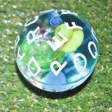 Soem-Verkaufs-Funkeln-Schlag-Kristallspielzeug-Kugel-blinkende Wasser-Schlag-Kugel