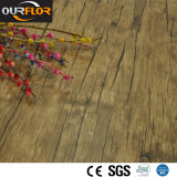 WPC Vinyl Flooring pour Indoor Decoration, Shrinkage Less Que 0.3%