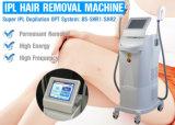 Máquina de remoção de pêlos Shr Beleza Rejuvenescimento da pele do Pulso da Máquina