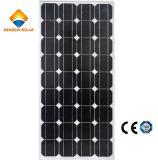 modulo monocristallino di energia solare del silicone di rendimento elevato 150W