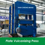 Imprensa Vulcanizing da placa do frame, imprensa Vulcanizing da placa com controle do PLC