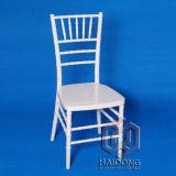 Mobiliário comercial de resina de mogno Cadeira de Chiávari