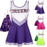 Healong China la fabricación de engranajes de ropa deportiva Fitness vestidos de damas de sublimación Cheerleading