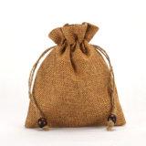 小さいギフトのドローストリングのバーラップ袋卸売の安いHessionのギフトの袋(CJB1122)