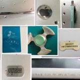 Máquina superventas de la marca del laser de la fibra del metal para la etiqueta de plástico del laser del hardware y de la impresora