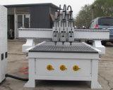 Cabeças múltiplas Router CNC Pneumática Máquina de madeira com o Melhor Preço