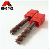 HRC55 Raduis esquina mayorista de herramientas de corte de acero