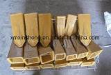 Excavatrices de KOMATSU Doosan Daewoo Kobelco Hyundai Volvo de chat modifiant les dents modifiées de position