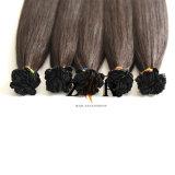 Couleur marron Double appelée Indian hair extension de cheveux à embout plat