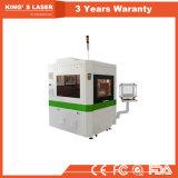 Máquina de estaca pequena 6040 do laser da fibra do cortador do laser do CNC da placa de identificação do metal da elevada precisão