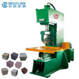 CE Certificated Semi Automatic 20tons Hydraulic Cobble Stone Splitting Machine