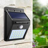 Mur du capteur de lumière LED solaire