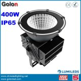 Luz Highbay de alta potência com 5 anos de garantia dimmer impermeável IP65 500W 300W 400W High Bay luminária de LED