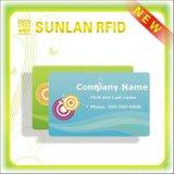 직원을%s 투명한 PVC Contactless NFC 명함