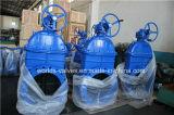 Valvola a saracinesca di gomma del ferro duttile di Nrs per acqua (Z45X-10/16)