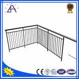 OEM Factory Wholesale Anodisé Black Aluminium Fence / Handrails / Fencing