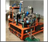 De Fles Covercap die van pvc Machine met het In reliëf maken van de Aluminiumfolie maken (gelijkstroom-C600)