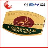 Distintivo di nome molle placcato metallo impresso su ordinazione dello smalto di marchio