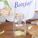 Бутылка каменщика хранения еды изготовленный на заказ новой конструкции стеклянная