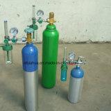 Cilindro de alumínio médico/industrial 11L da venda quente de oxigênio