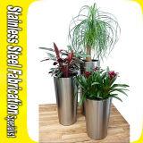 Bac de fleur conique de bac de planteur de l'acier inoxydable 304