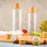 زجاجة بلاستيكيّة مع خيزرانيّ غطاء غسول مضخة