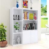 Bibliothèque blanche moderne simple bon marché