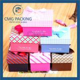 Розовая коробка подарка для повелительницы Нижнего белья Packaging Коробки