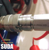 Macchina della saldatura per fusione del tubo dell'HDPE di Sud160h