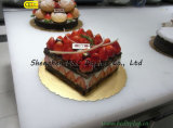 La bandeja de la torta de cumpleaños, tablero de la torta, placa de la torta, cortó tableros de la torta con tintas con SGS (B&C-K057)