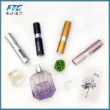 Petites bouteilles de parfum en aluminium de luxe en gros de femme de jet d'atomiseur de la poche 8ml
