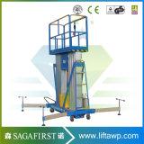 De Mast die van het aluminium de LuchtLijst van de Lift van het Platform van het Werk beklimmen