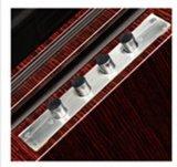 Simplestyle tallado con puerta de acero para interiores (GS-8085)