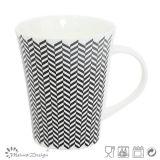 Forme classique de corne New Bone China Mug