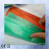 يصمد مشمّع وقاية من ألوان مختلفة بلاستيكيّة تسقيف تغطية